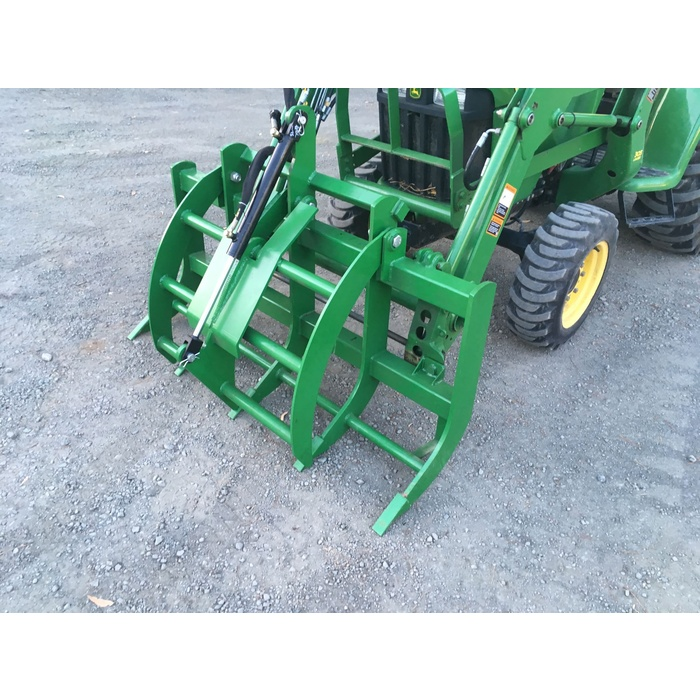Brush Grapple for John Deere Compact tractor Loader